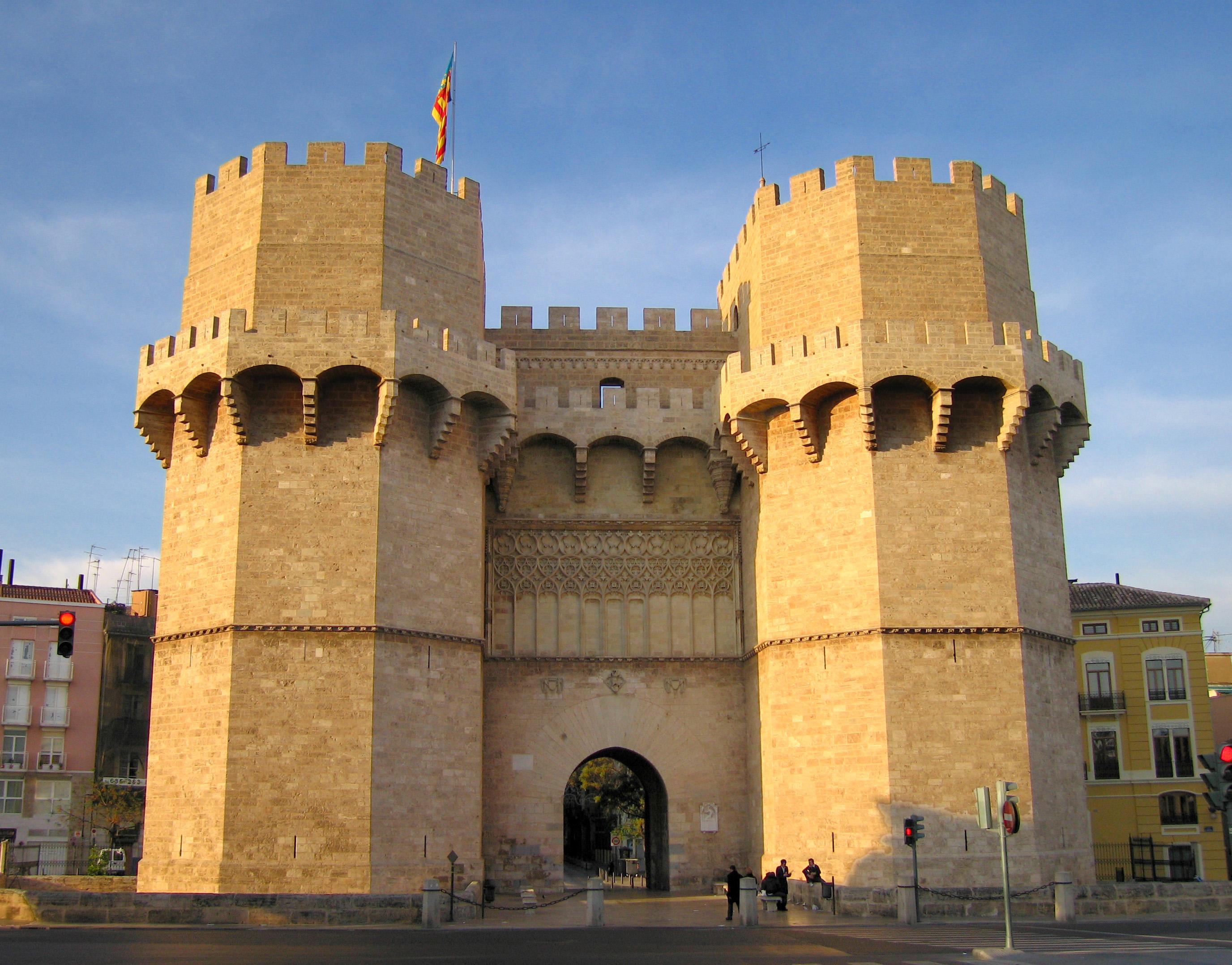 Torres de Serrano de Valencia